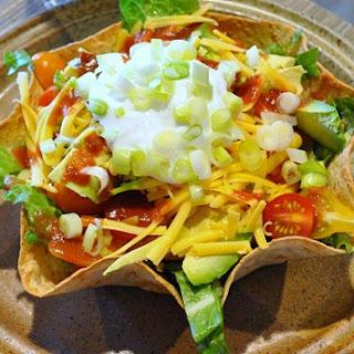 Tex-Mex Salad Taco Bowls