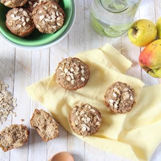 Brown Sugar Apple Oat Muffins