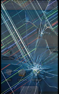 Broken Screen: Crack Screen: miniatura da captura de tela