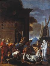 Photo: - Tobie enterrant les morts (Valence, musée des Beaux Arts) - Sébastien Bourdon