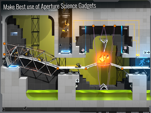 Screenshot for Bridge Constructor Portal in Hong Kong Play Store