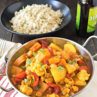 Vegetable Indian curry.