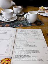 Photo: We got the Cumberland Cream Tea for two at Bryson's in Keswick