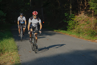 Photo: Less than three miles from the start, Mt. Gideon's 15 percent grade provided a challenge