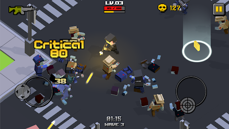 Cube Zombie War 1.2.2 screenshot 522659