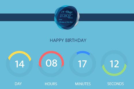 Countdown Timer Live Wallpaper - náhled