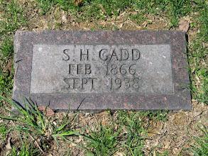 Photo: Gadd, S.H.