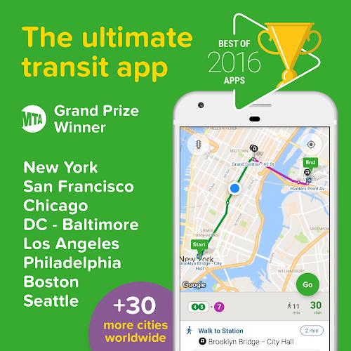 Citymapper - Transit Navigation Android App Screenshot