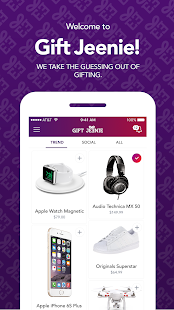 Gift Jeenie  Gifting App- screenshot thumbnail