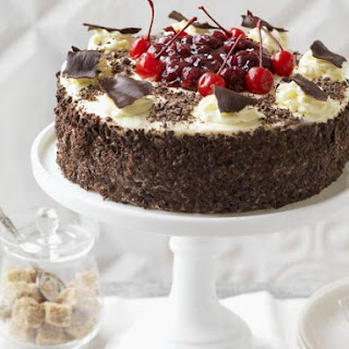 Chocolate and Cherry Cake.