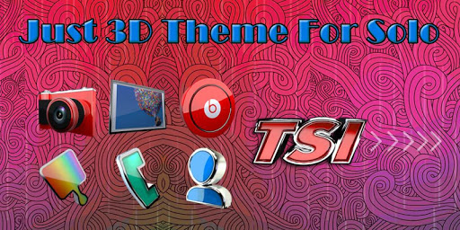 Just 3D Solo Theme