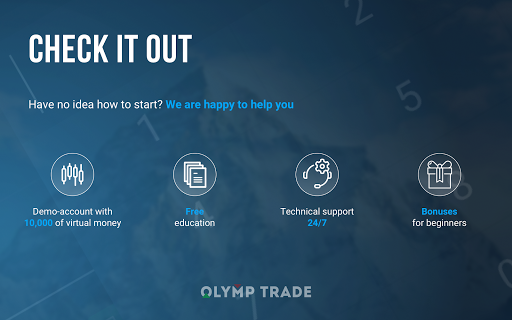 OlympTrade Aplicaciones (apk) descarga gratuita para Android/PC/Windows screenshot