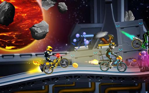 High Speed Extreme  Bike Race Game: Space Heroes 3.39 screenshots 4