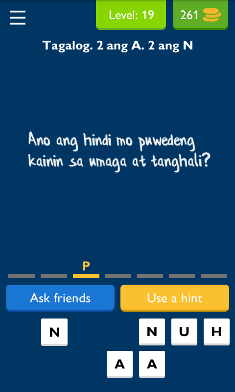 Ulol tagalog logic trivia android apps on google play for Gardening tools 94 game answers