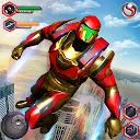 Flying Robot Grand City Rescue APK