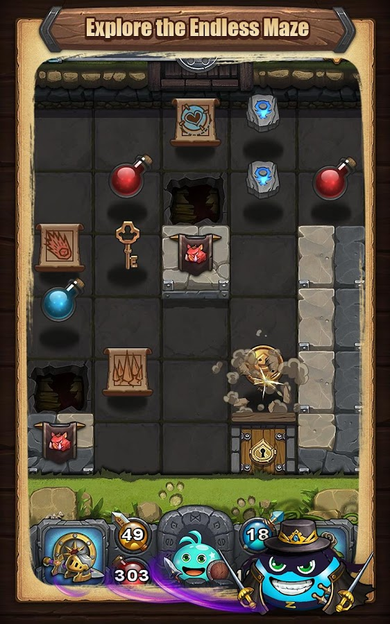 Gumballs & Dungeons(G&D)- screenshot