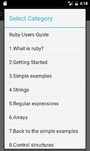 Ruby Language User's Guide - náhled