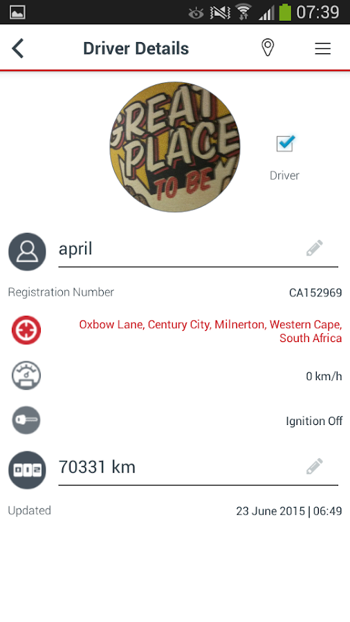 Tracker Connect- screenshot