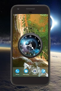 Earth Clock Live Wallpaper - náhled