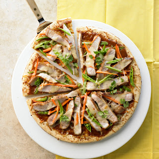 Thai Pork Pizza.