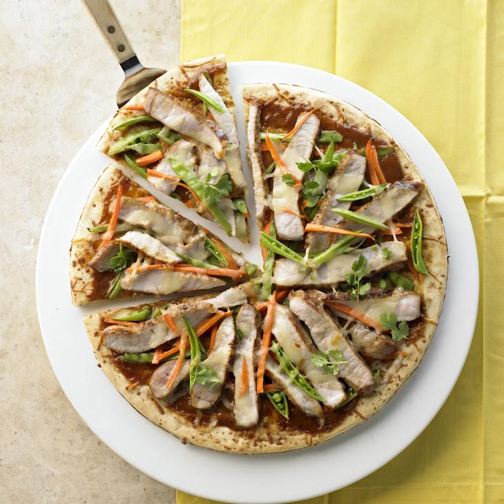 Thai Pork Pizza Recipe