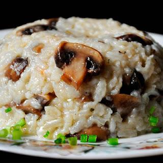 Brown Rice Mushroom Pilaf Recipe
