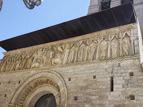 Photo: Carrion - Frise romane de l'Iglesia de Santiago