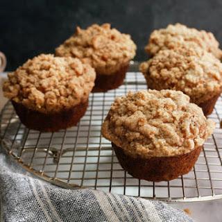 King Arthur Flour's Banana Crumb Muffins