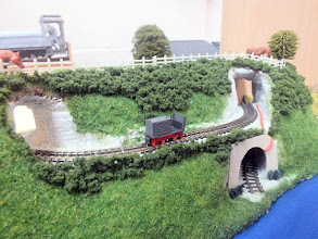 Photo: 016 And I don't recognise this little 7mkm scale loco built by Toby either, can anyone identify it? .