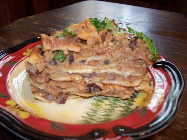 Chili-black Bean Enchiladas Recipe