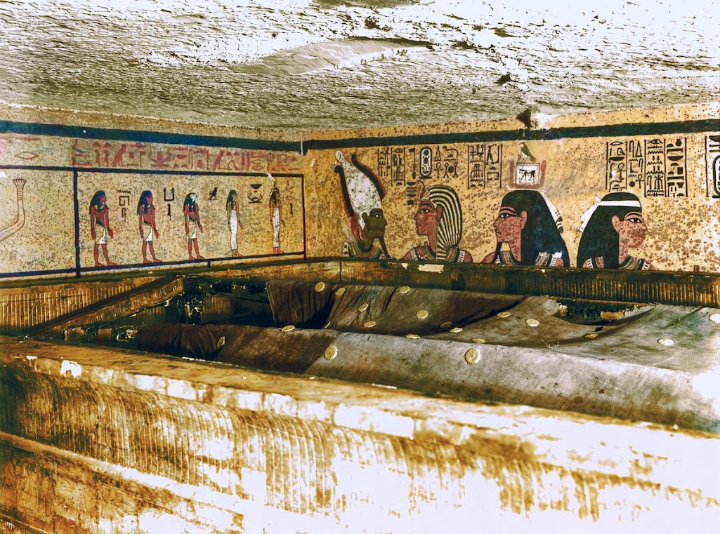 A descoberta da tumba de Tutancâmon