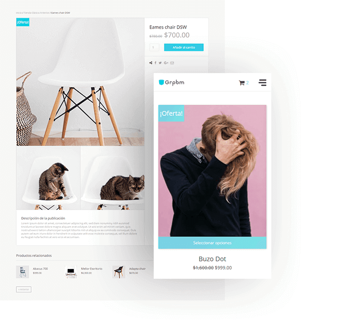 diseño web tiendas online e commerce