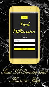 Adult Dating, Find Millionaire screenshot 0