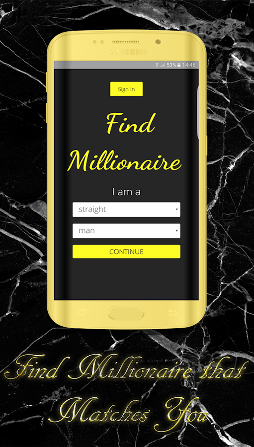 Meet millionaire dating