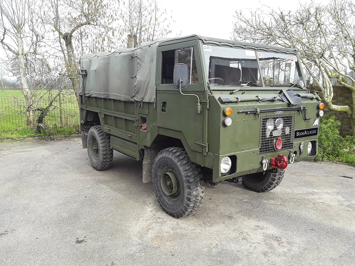 Land Rover Military 101 Forward Control Hire Sittingbourne