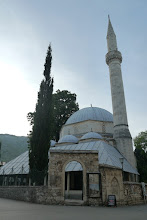 Photo: Karadjozbey Mosque, central mosque of Mostar built in 1557