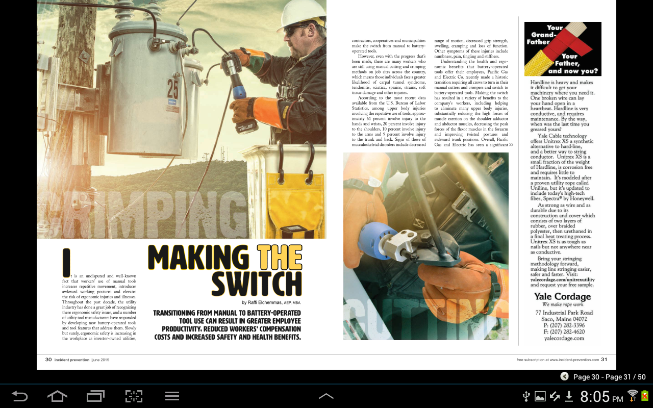 Incident Prevention Magazine- screenshot