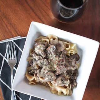 Crockpot Beef Stroganoff Recipe
