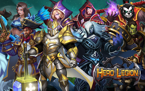 How to hack Hero Legion Online - 3D Real Time Tactical MMO RPG for android free