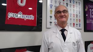 Ripoll, jefe de los servicios médicos del Almería.