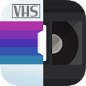 RAD VHS- Glitch Camcorder VHS Vintage Photo Editor icon