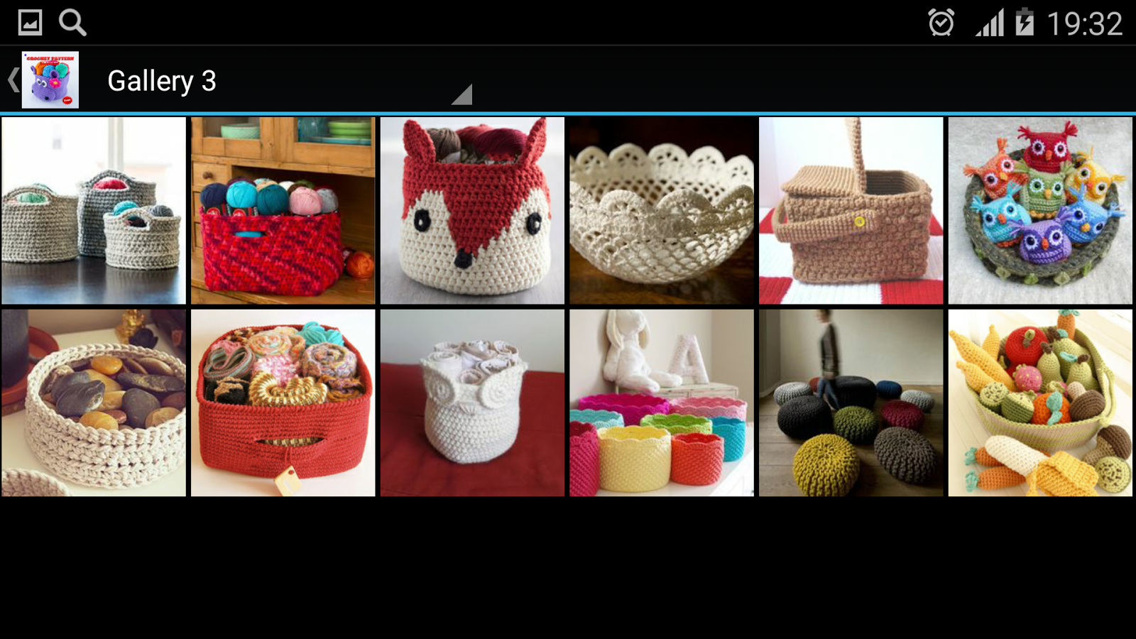 Crochet Pattern Basket - Android Apps on Google Play