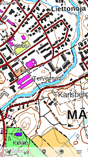 Kapsi.fi Maps for Trekarta - náhled