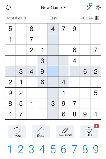 Sudoku - Free Classic Sudoku Puzzles 2.8.0 screenshots 12
