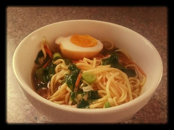 Char Siu Ramen With Ramen Eggs Recipe