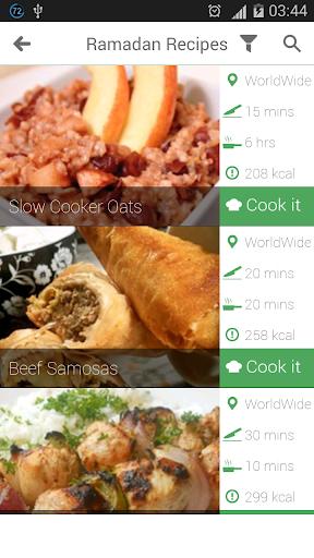 Ramadan Recipes For Muslims