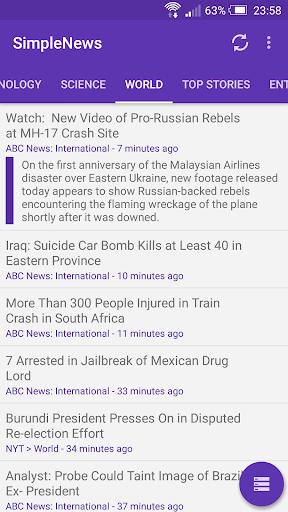 SimpleNews - Feed Reader Pro