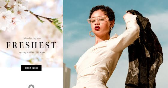 Freshest Spring Collection - Facebook Ad Template
