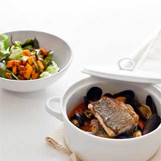 Lake Erie Yellow Perch and Mussels Stew