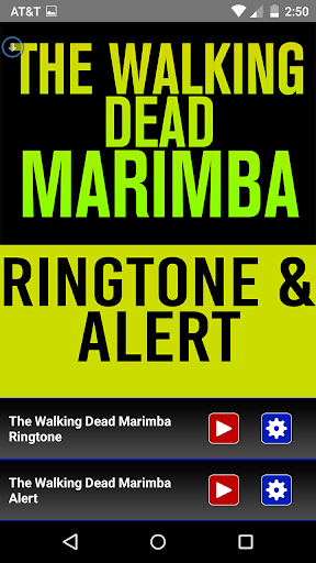 The Walking Dead Marimba Tone